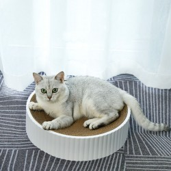 Bowl-Shaped Scratching Board Scratch-Resistant And Abrasion-Resistant Scratching Board
