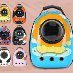 Cat pet Carrier Backpack Breathable cat Backpack Light and Spacious Suitable For Travel And Outdoor Activities