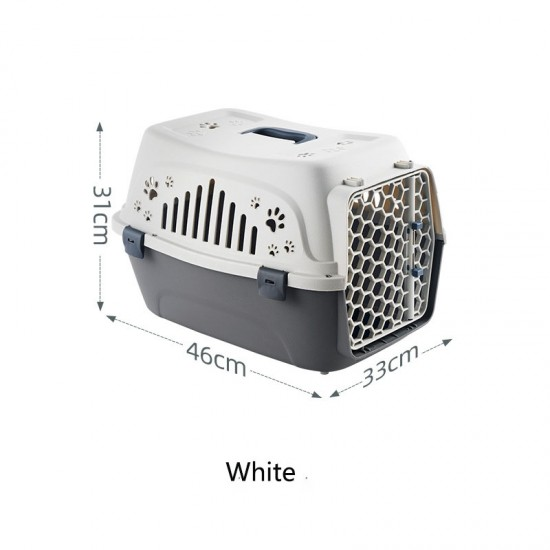 Pet Carrier Hard-Sided Dog Carrier Cat Carrier Drop And Pressure Resistant Pet Air Box