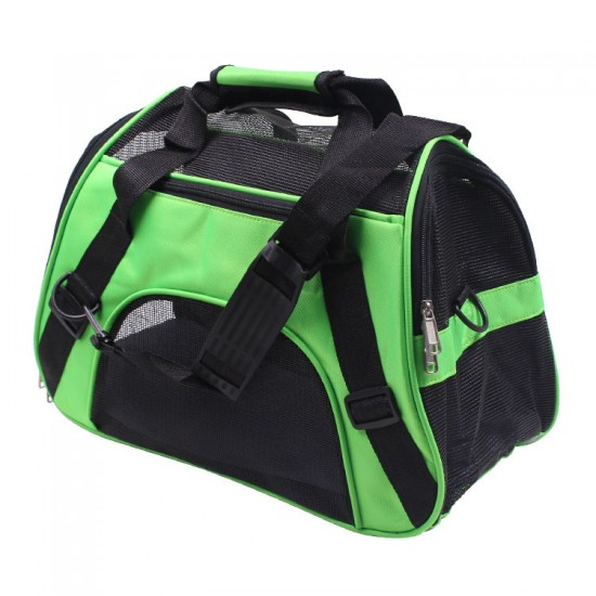 Soft-Sided Pet Carrier For Dogs Collapsible Large Pet Travel Carrier