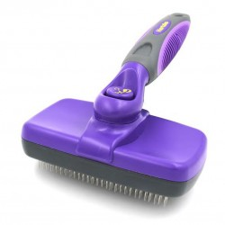 Hair removal and floating hair large retractable comb for cats and dogs