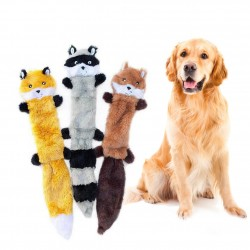 Pet dog toy plush resistant to bite teeth and sound products